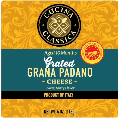 Grana Padano – Grated