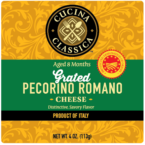 Pecorino Romano – Grated