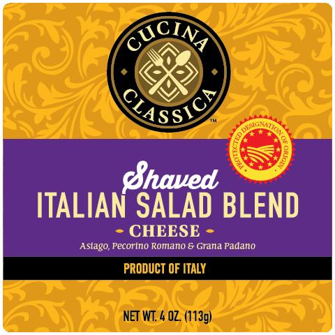 Italian Salad Blend – Shaved