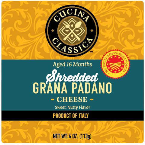 Shredded Grana Padano