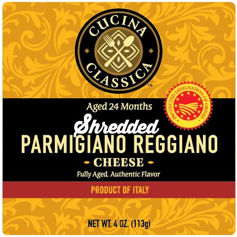 Parmigiano Reggiano – Shredded
