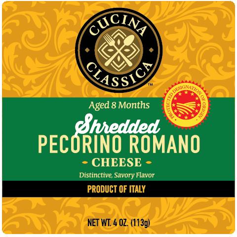 Shredded Pecorino Romano